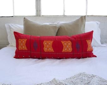 Extra Long Lumbar Pillow Etsy