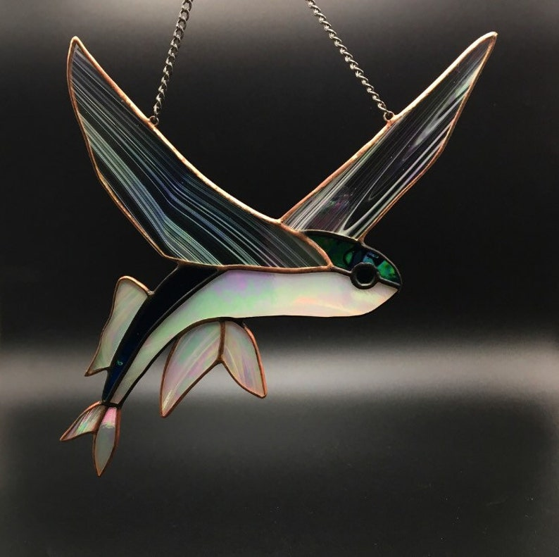 Flying fish suncatcher