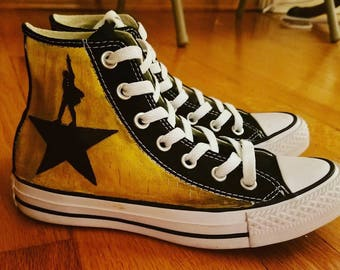 Winter Soldier Adult Painted Converse Shoes | Etsy