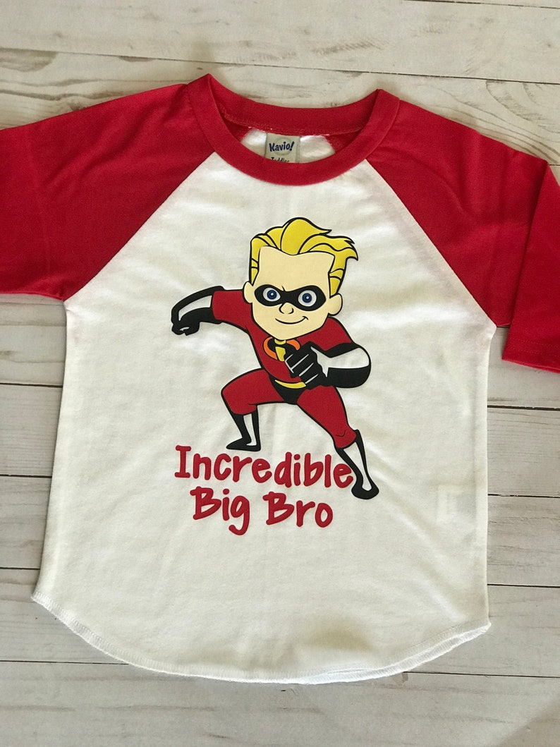 Incredibles Birthday Shirt Personalized