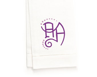 Emerson Hand Towel, White Linen