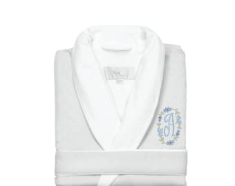 Luxe Spa Robe, White