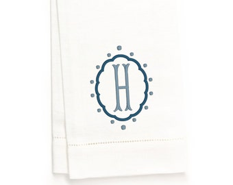 Gabriel Hand Towel, White Linen