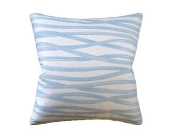 """Brushstroke Pillow, 22"""" x 22"""""""