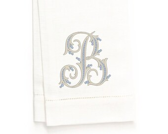 Reese Hand Towel, White Linen