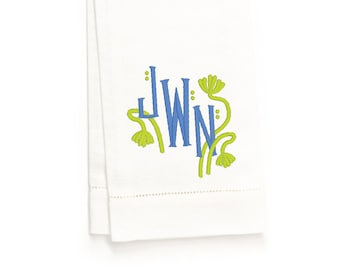 Coco Hand Towel, White Linen