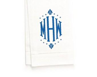 Parker Hand Towel, White Linen