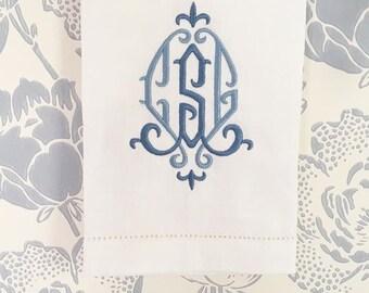 Camilla Monogram Hand Towel