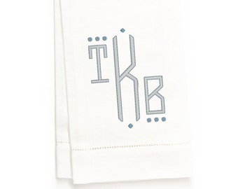 Luella Hand Towel, White Linen