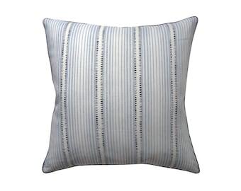 """Stripe Dash Pillow, 22"""" x 22"""""""