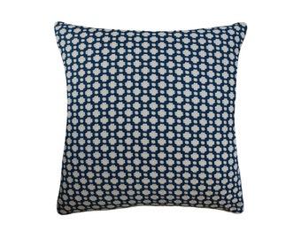 "Navy Betwixt Pillow, 22"" x 22"""