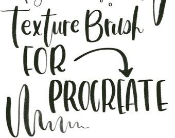 Procreate Texture Pen