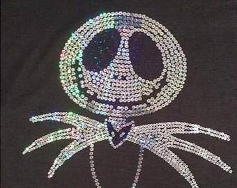 Jack Skellington Sequins Shirt