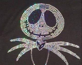 Youth Jack Skellington Sequins Shirt
