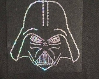 Darth Vader Sequins Youth Shirt