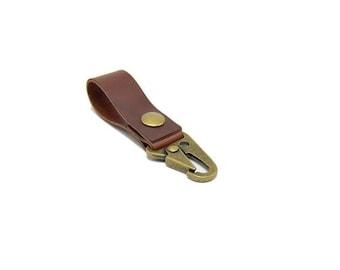 Tactical Belt Loop Keychain - Antique