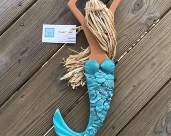 Mermaid Wall Hanging Etsy