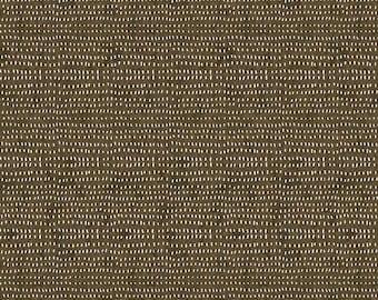 Cappuccino Brown Seeds Fabric,  Blender Fabric, FreeSpirit Fabrics, Cori Dantini, 100% Quilting Cotton Fabric