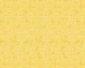 Yellow Seeds Fabric, Butter Seeds, Blender Fabric, FreeSpirit Fabrics, Cori Dantini, 100% Quilting Cotton Fabric