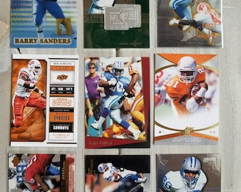 Barry Sanders Rookie Etsy