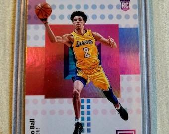 f5800d4f6193 Lonzo Ball Rookie Card