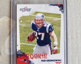 Rob Gronkowski Rookie Card 7ecc9401c