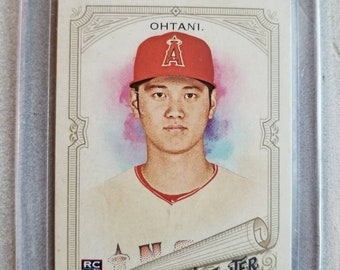 Shohei Ohtani Allen Ginter Rookie Card Los Angeles Angels Gift Gifts For Men Boyfriend Valentines Day Him Dad