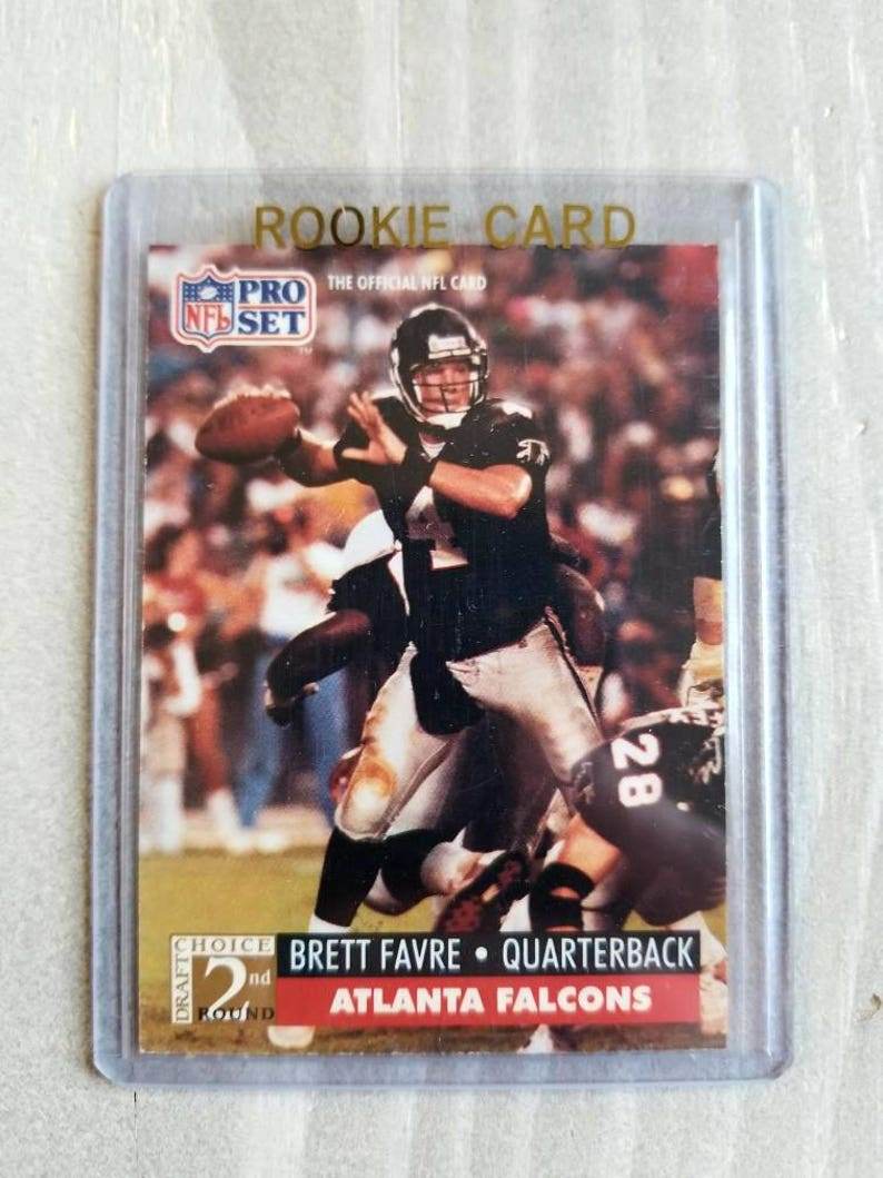 Brett Favre Rookie Card 1991 Pro Set Green Bay Packers Packers Shirt Southern Mississippi Packers Gift Gifts For Men