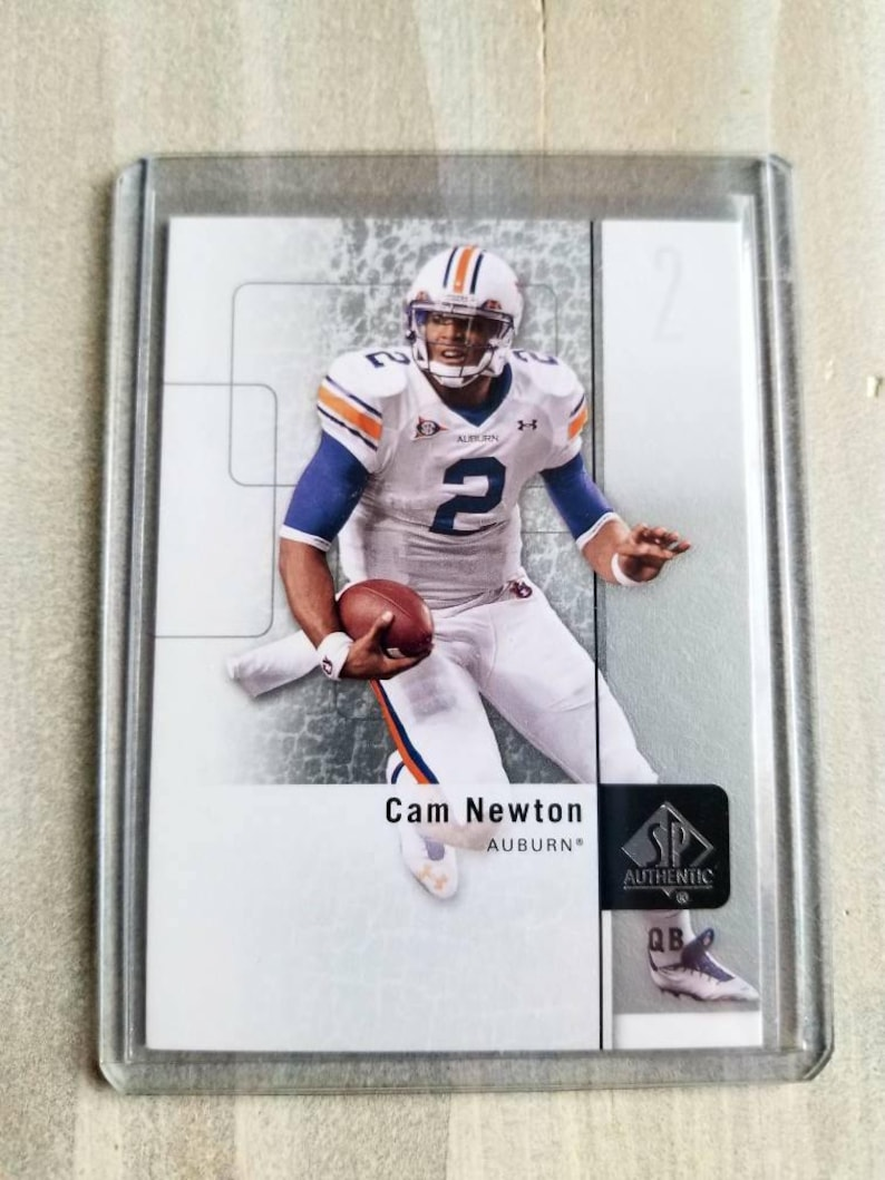 half off 32ba4 67ea4 Cam Newton SP Rookie Card! Carolina Panthers Gift, Auburn Tigers Gift,  Birthday Gift for Him, Gifts for Men, Gifts for Boyfriend Gift