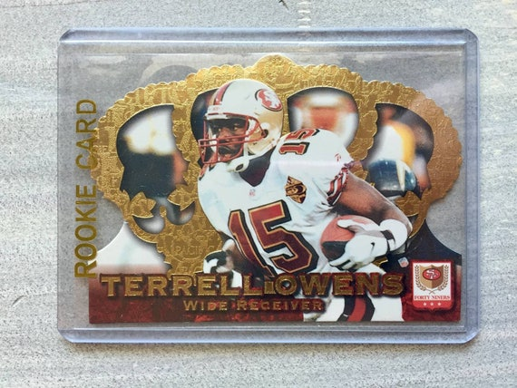 watch d2749 167d2 Terrell Owens 1996 Rookie Card - Football Cards - San Francisco 49ers Gift,  Jersey, Shirt, Baby - Dallas Cowboys, Birthday Gift for Men