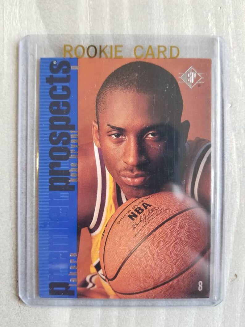 Kobe Bryant Sp Rookie Card True Rookie Los Angeles Lakers Gift La Lakers Basketball Cards Gifts For Men Gifts For Boyfriend Gift