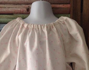 Girls dress, Girls peasant dress, Little girls dress, Girls Birthday dress, Size 2T, Girls Easter dress, Girls spring or summer dress, #155