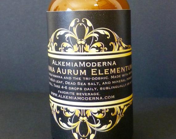 Manna Aurum Elementum - Monoatomic Gold Ormus
