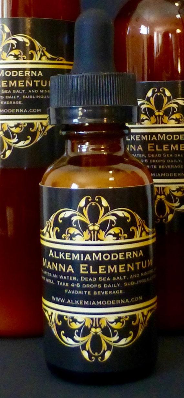 Manna Elementum - M-11 formula Monoatomic Gold Ormus
