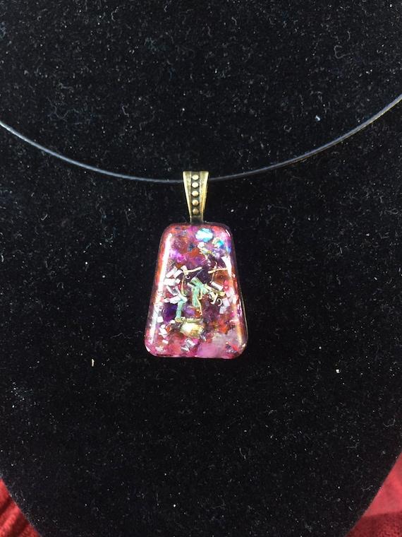 Manifestation Energy Orgone- Sacred Myths Cochina Orgone Energy Generator Purple Amulet- Prophecy Spirit Vision Energy Orgone