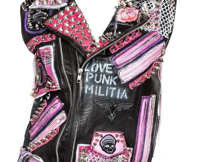 Featured listing image: Love Punk Militia Vest
