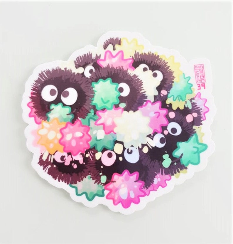 Spirited Away Steamed Soot Sprites And Konpeito Fanart Food Etsy