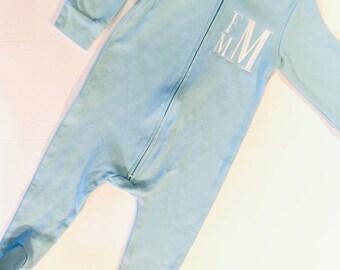 4765dfd1b06a Baby footie pajamas