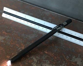 Vintage Streamlight Stylus 3 Black Penlight/Flashlight U.S.A.