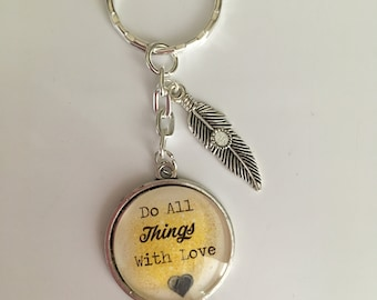 Door keys do all things with love