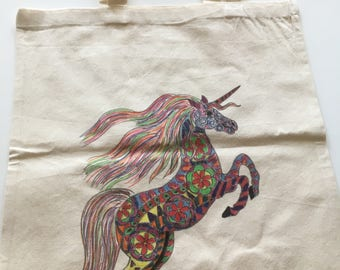Unicorn tote bag Tote