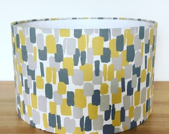 Handmade Fabric Lampshade  Sundowner  by Clarke   Clarke. Drum or Square  lampshades available. be16188ca