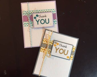 homemade thank you card; thank you card homemade; thank you card; blank card