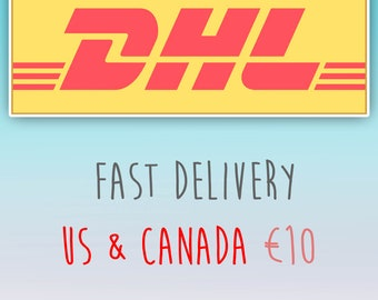 Dhl Customer Service Phone Number >> Add Dhl Shipping Etsy