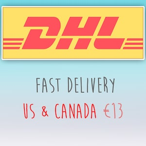 Dhl Express Delivery Important Please Add Your Phone Number Etsy