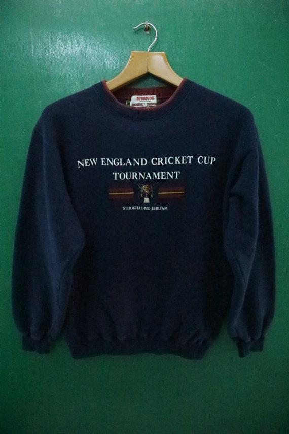 Vintage Mc Gregor Sweatshirt Big Spell Out New Eng