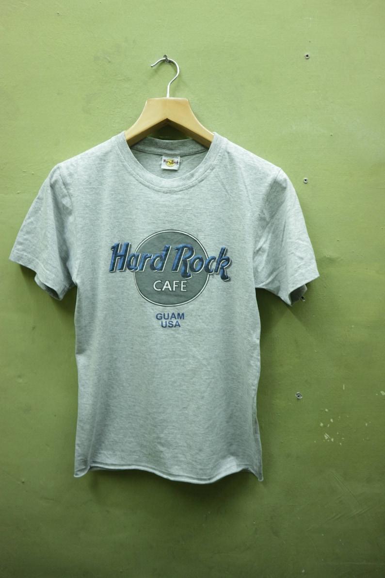 535e27a4 Vintage Hard Rock Cafe Guam USA Shirt Big Spell Out Streetwear | Etsy