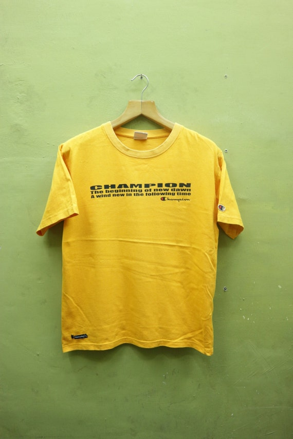 d9914afee9188 Vintage Champion Shirt Big Spell Out Sportswear Authentic Athletic Apparel  Streetwear Top Tee T Shirt Size M