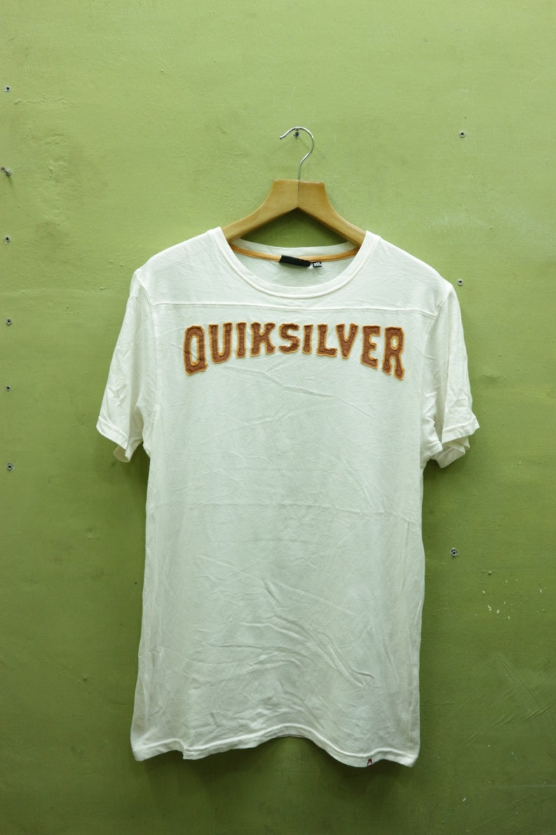 d21b5d783193 Vintage Quiksilver Shirt Big Spell Out Surf Board riders Club | Etsy