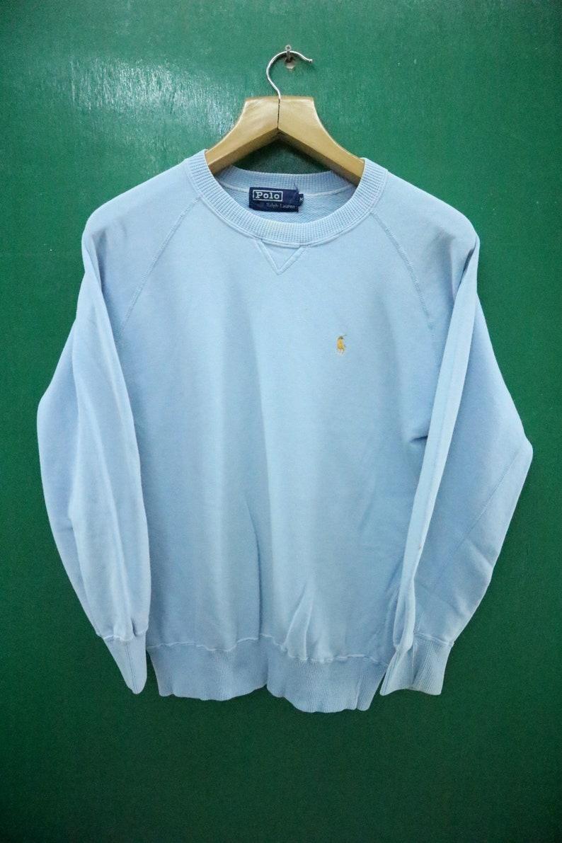 b223bb67 Vintage Polo Ralph Lauren Sweatshirt Embroidery Logo | Etsy